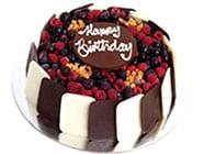Choc Berry Cakes