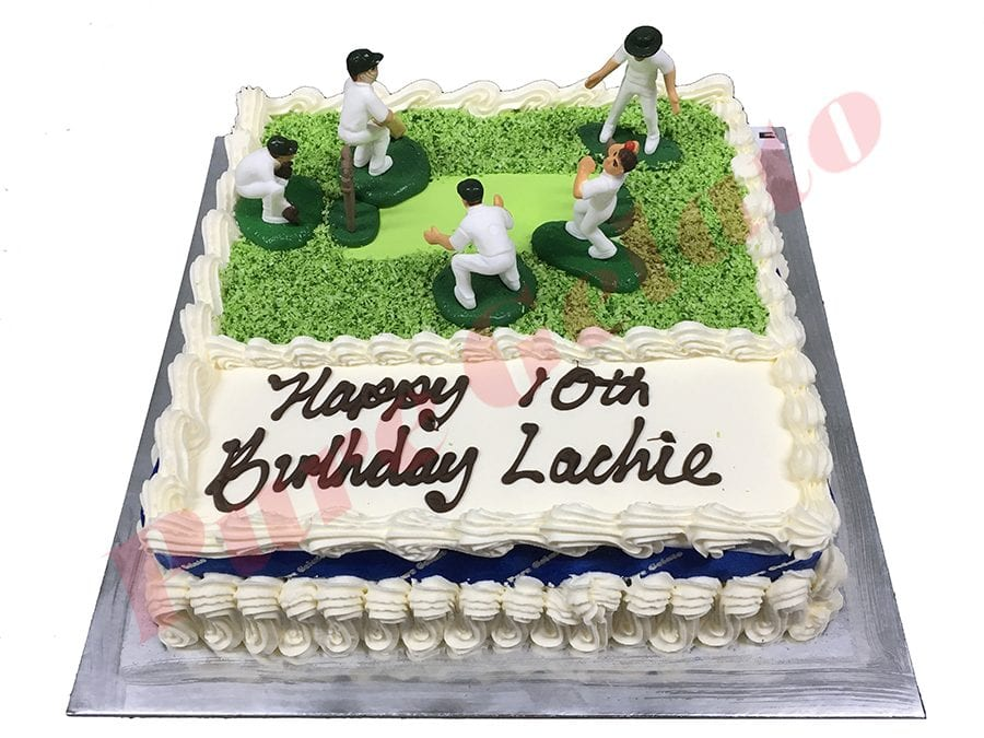 Traditional with Blue Ribbon+Cricket Field