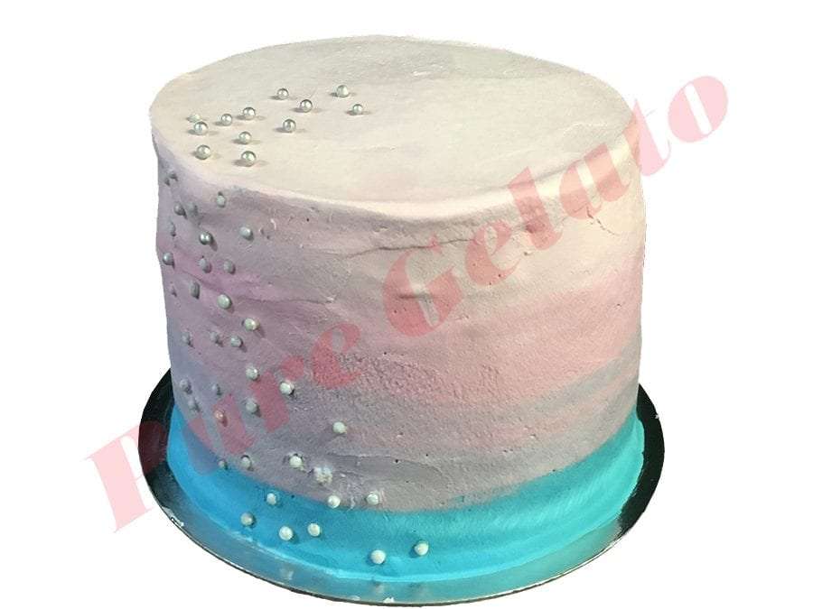 Triple Stack Smooth Cream Blue Pink White+Pearls