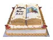 Religious Open Bible Cakes