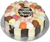 Scoop & choc sides cakes