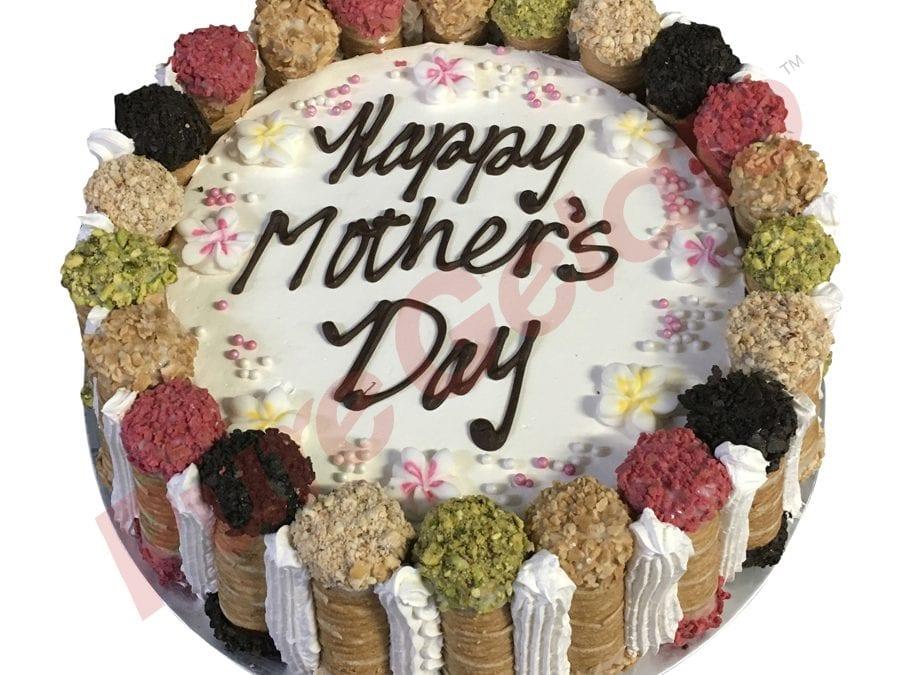 Cannoli Gelato Cake frangipanis Mothers day