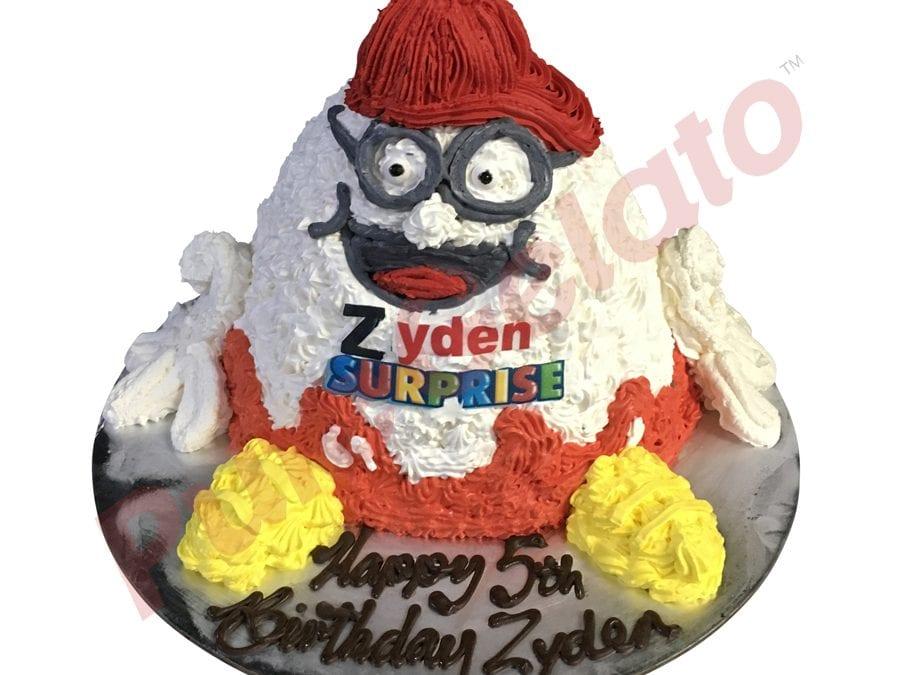 Kinder-Surprise-egg-Gelato-Cake