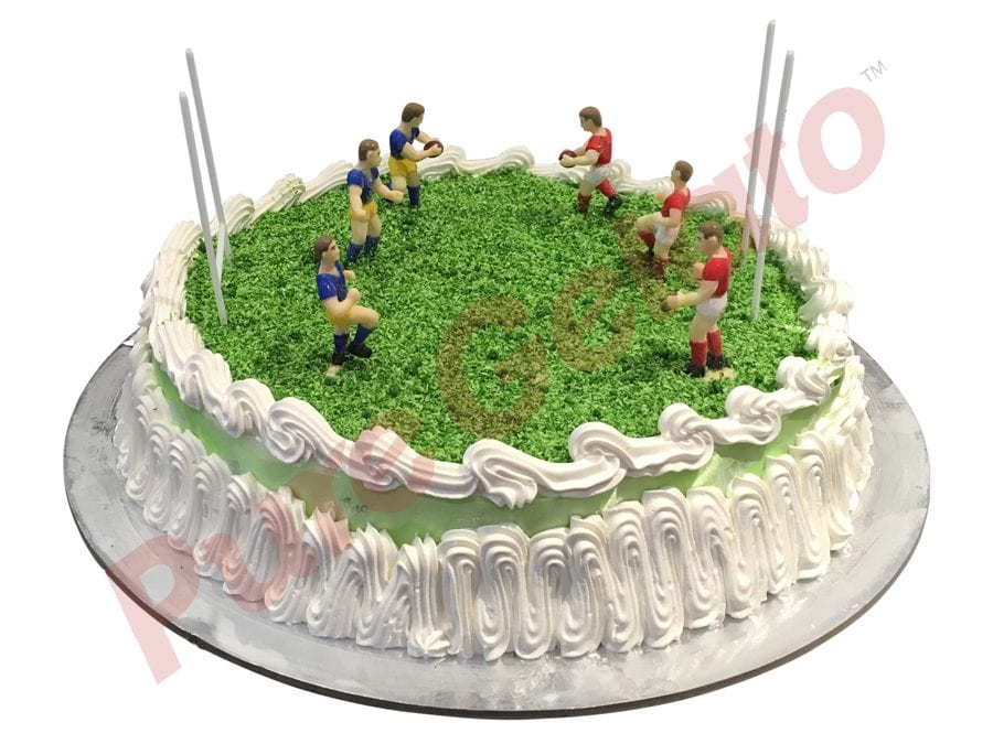 Sports-field-Cake-Square-Full-Football-field-green-ribbon-cream-decorated