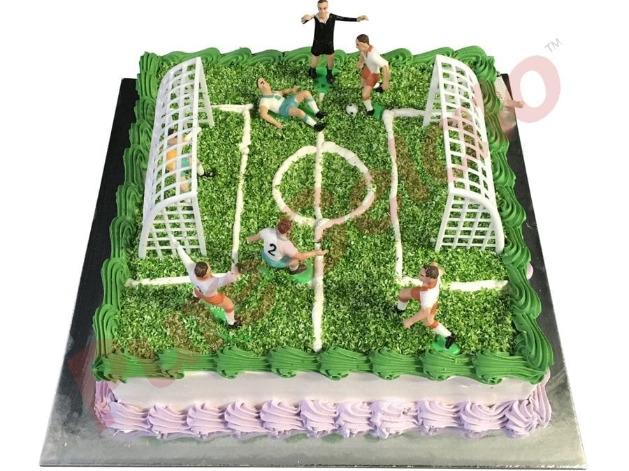 Sports-field-Cake-Square-Full-Soccer-field-smooth-Cream-green+lilac-piping
