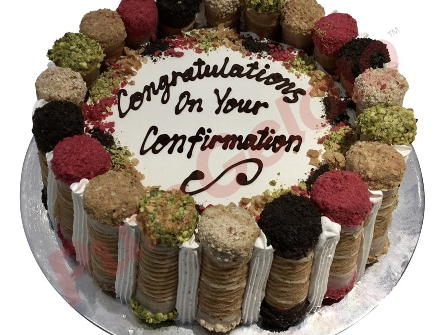 Confirmation Cannoli Cake_