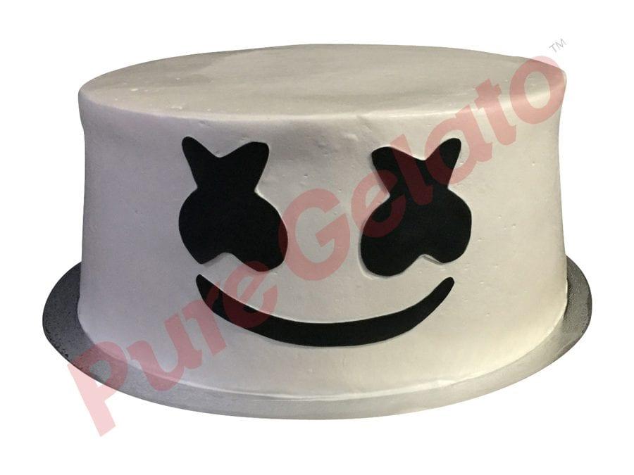 Double stack smooth white Cream Dj marshmello
