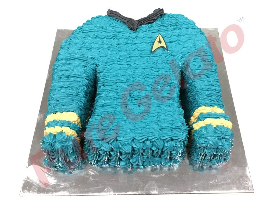 Jersey cake Star Trek