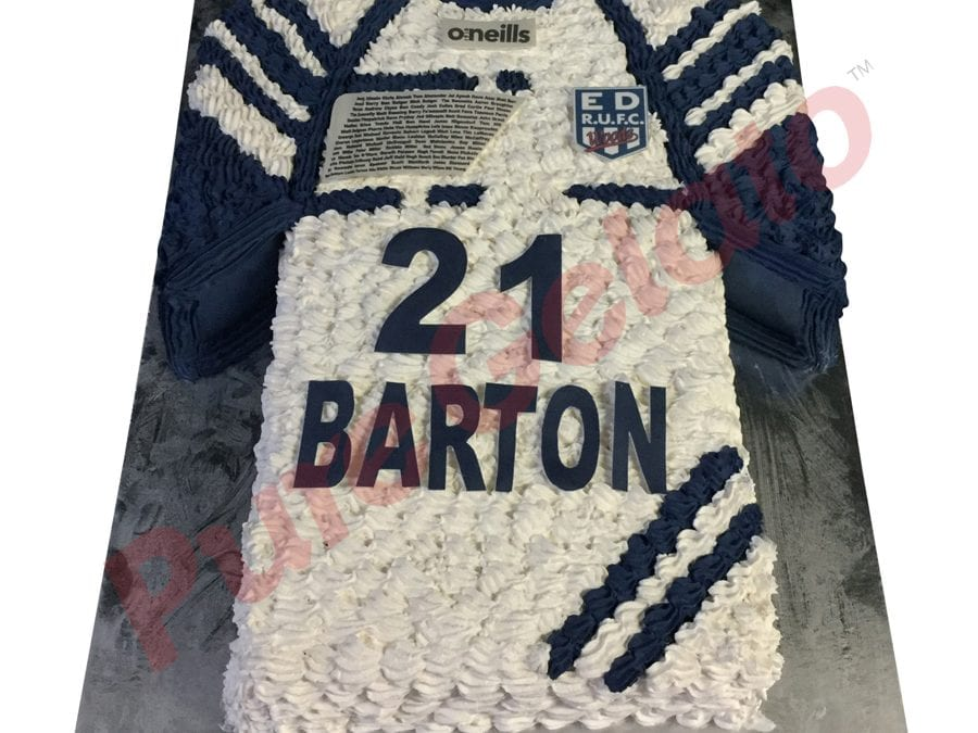 Jersey cake rugby union eastern suburbs RUFC